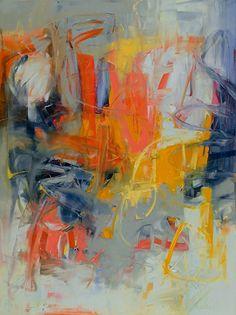 New Day1 by Karen Scharer Oil ~ 40 x 30