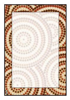 Editable Labels: Aboriginal Style Art