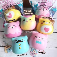 marshmallow kittens by punimarui collected the blue & pink-blue ombrethe blue one was my fav, it smells like bubblegumya'll need to buy it