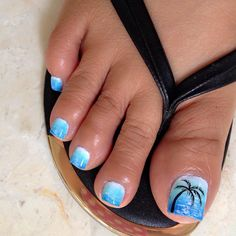 How to Get Your Feet Ready for Summer - 50 Adorable Toe Nail Designs 2019 - Her Style Code