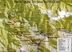 Inca Trail, Peru. This is it! What we want to hike for our honeymoon.