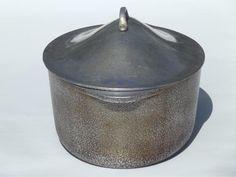 Vintage Savory Enamel Roasting Pan