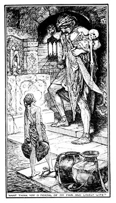 Henry Justice Ford - The olive fairy book, edited by Andrew Lang, 1968 (illustration 2)