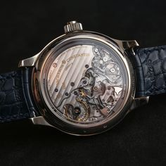 The mesmerizing case back of the Vacheron Constantin Les Cabinotiers Symphonia Grande Sonnerie 1860 - what a piece of art... Read the article: http://www.ablogtowatch.com/vacheron-constantin-les-cabinotiers-symphonia-grande-sonnerie-1860-watch/ #sihhabtw