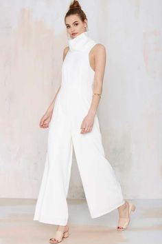 Keepsake In the Silence Crepe Jumpsuit | Shop Clothes at Nasty Gal!