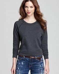 ALTERNATIVE Sweatshirt - Raglan French Terry   Bloomingdale's