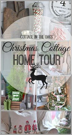Cottage in the Oaks Christmas Home Tour