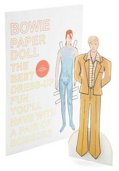 Bowie Paper Doll Set, #ModCloth