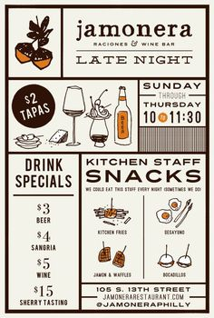 Bildergebnis für creative menu cards