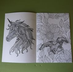 An adult, horse themed colouring book. You can also find this item as part of our Relax Pack Theme Box. Colouring, Coloring Books, Pony Express, Moose Art, Canada, Horses, Detail, Girls, Animals