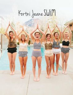 Kortni Jeane Swim // Sassy and classy swimsuits!