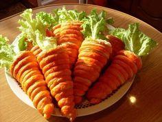 """Insalata in Una """"carota"""" di pasta sfoglia. """"Local News, Tutte le ultime novità Dalla Russia e notizie dal mondo, notizie del Giorno"""