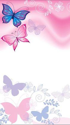 New Wallpaper Phone Cute Galaxies Pastel Ideas Butterfly Wallpaper Iphone, Wallpaper Iphone Cute, Cellphone Wallpaper, Pink Wallpaper, Galaxy Wallpaper, Butterfly Background, Flower Background Wallpaper, Flower Backgrounds, Wallpaper Backgrounds