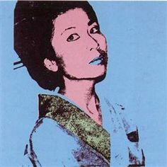 Kimiko - Andy Warhol Andy Warhol : ♦️More Pins Like This At FOSTERGINGER @ Pinterest♦️