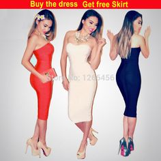 Find More Cocktail Dresses Information about 2014 Autumn Sexy Rayon Strapless Simple Mid Calf Tight Guang Zhou Cocktail Party Dress Bandage Dress H041C,wholesale,drop ship,High Quality dress code business casual,China dress bachelorette party Suppliers, Cheap party dress size 22 from Lady Go Fashion Shop on Aliexpress.com