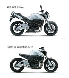 GSR 600 - NOW AND THEN