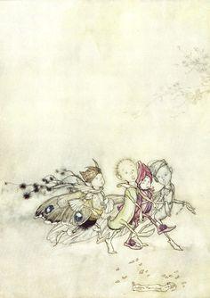Arthur Rackham   A Midsummer Night's Dream.
