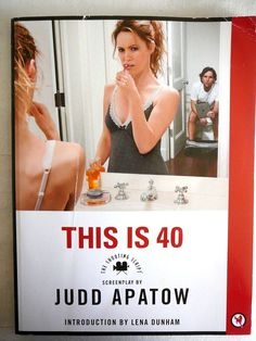 This is 40: The Shooting SCRIPT SCREENPLAY Judd Apatow Photos MOVIE STILLS