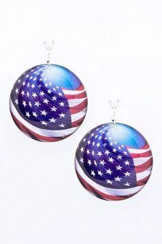 Patriotic Flag Earrings / AZERFH045-SRB Arras Creations http://www.amazon.com/dp/B00D9FBO94/ref=cm_sw_r_pi_dp_rKjDvb1QRS5RN
