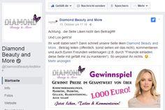 Gewinnt Kosmetikbehandlungen im Wert von über 1.000 Euro! Bei Diamond Beauty and Morekönnt ihr bis 20. Dezember 2016...