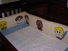 star wars nursery | Star Wars baby crib nursery bumper | Flickr - Photo Sharing!
