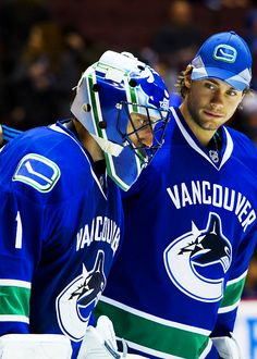 Roberto Luongo & Eddie Läck - Vancouver Canucks