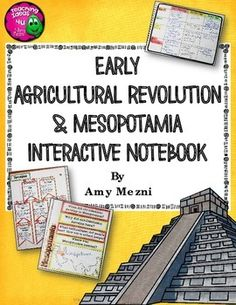 Early People and Mesopotamia Interactive Notebook Unit 6th Grade This is a complete interactive notebook unit with assessments for Paleolithic, Ice Age, and Neolithic people and the civilizations of Mesopotamia, including Sumer, Babylonia, Assyria, and Chaldea.