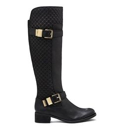 Faris Quilted boot Fall 2015