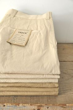 YAECA Chino Cloth Pants