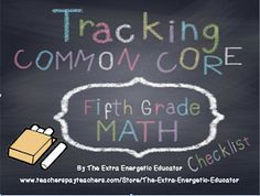 Common core on pinterest common cores common core standards and 5th