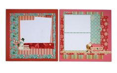 Layout ideas using the OA: Holiday Style line from @Crafts Direct. More layout ideas can be found here: http://on.fb.me/zSiZY4