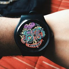 #Swatch WILD FACE http://swat.ch/WildFace