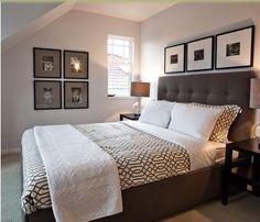 como decorar un cuarto con tonos grises - Buscar con Google