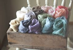 PICK any 5 Newborn Wraps, RUSTIC WRAPS , Baby Wraps Cheesecloth Wraps Photography Prop, Newborn Photo Prop
