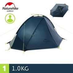 separation shoes fb59c 43494 Ultralight Rodless Camping Tent 210T Polyester Fabric PU ...