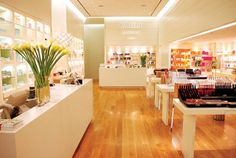 retail store with perimeter lighting | Cabinet Space: Lighting 101