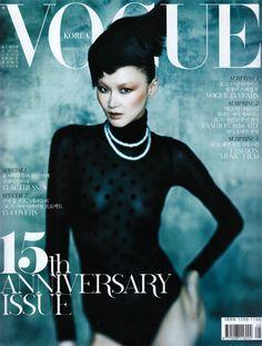 Vogue Korea August 2011 Cover | Hye Jung Lee by Hong Jang Hyun