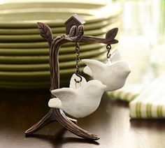 Flying Bird Salt & Pepper Shakers.  In case you were wondering what to get me for Christmas!