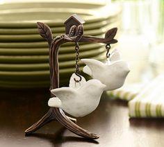 Flying Bird Salt & Pepper Shakers