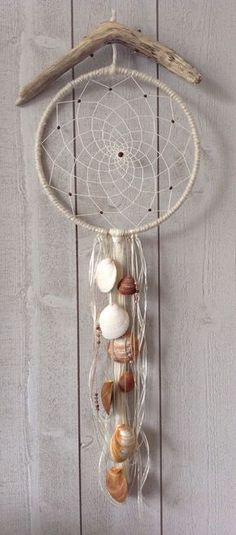 Etsy - Shop for handmade, vintage, custom, and unique gifts for everyone Mobiles, Dream Catcher Mandala, Dream Catcher Mobile, Indian Arts And Crafts, Native American Crafts, Creation Deco, Ring Crafts, Shell Crafts, Sun Catcher