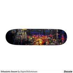 Urbanistic Sunset Skateboard Decks