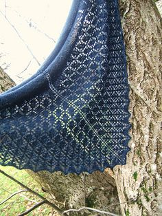 Karise by Karina Westermann This pattern is available for £3.00 GBP   Karise is knitted using just one skein of beautiful hand-dyed sock yarn. The stocking stitch section showcases the pretty yarn whilst the easy lace section flows organically from one shape to another.  This shawl is designed to be modular. That means each chart can be repeated as many times as you would like before starting the next chart. If you want to make a bigger shawl, simply repeat the charts more times.