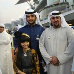 DWC 2014 Sheikh Mohammed Bin Maktoum Al Maktoum & Sheikh Saeed Bin Hamdan Al Maktoum