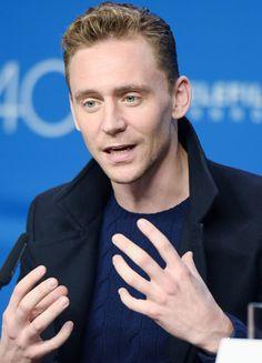 Tom Hiddleston attends the 'High-Rise' press conference at the 2015 Toronto International Film Festival at TIFF Bell Lightbox on September 14, 2015 in Toronto. (Via Torrilla)