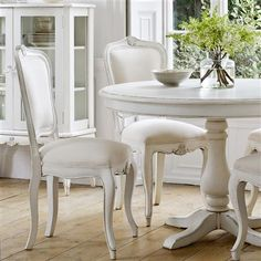Berry 120cm Round Dining Table, White Top