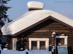The Roosevelt Cabin i.e. Arctic Circle Cabin in Rovaniemi in Finland