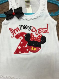 Hey, I found this really awesome Etsy listing at https://www.etsy.com/listing/234514816/minnie-mouse-2nd-birthday-dress-minnie