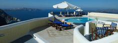 Cliff Studios in Santorini with Sea view!    http://www.volcano-view.com/santorini-cliff-studios.php