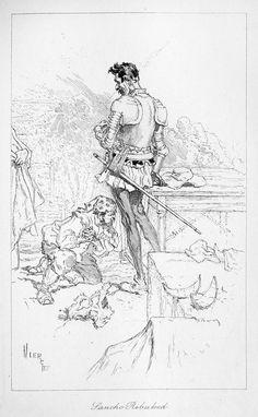La historia de El ingenioso hidalgo Don Quijote de la Mancha de Miguel de Cervantes