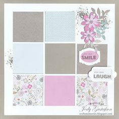 Cre8n' Memories: I've Got A Crush On You. Using the CTMH My Crush® Everyday Life Pages to create a scrapbook layout